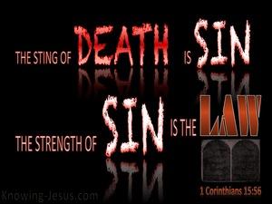 1 Corinthians 15:56