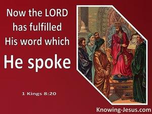 1 Kings 8:20