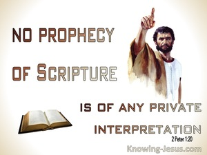 2 Peter 1:20