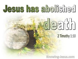 2 Timothy 1:10