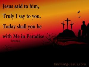 Luke 23:43