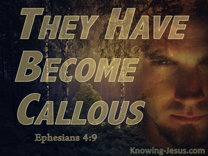 Ephesians 4:19