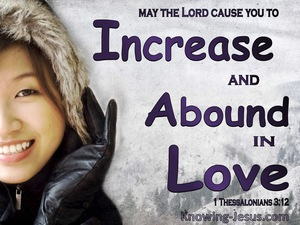 1 Thessalonians 3:12