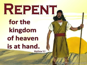 Matthew 3:2
