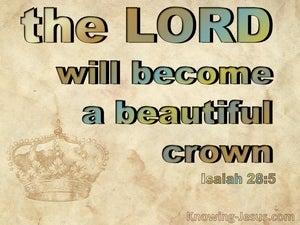 Isaiah 28:5