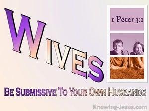 1 Peter 3:1