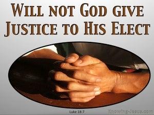 Luke 18:7