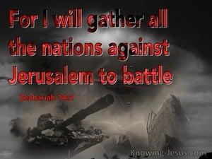 Zechariah 14:2
