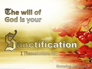 1 Thessalonians 4:3