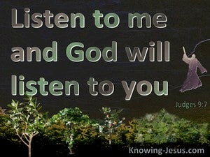 Judges 9:7
