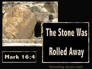 Mark 16:4