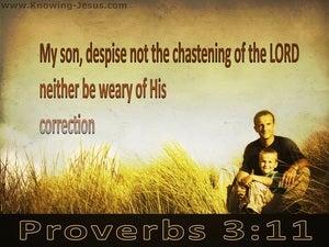 Proverbs 3:11