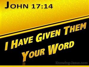 John 17:14