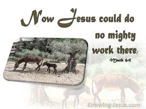 Mark 6:5