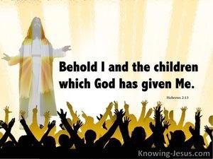 Hebrews 2:13