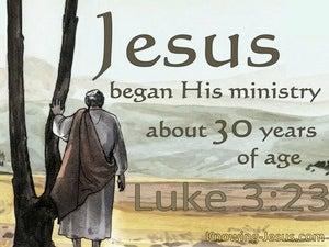 Luke 3:23