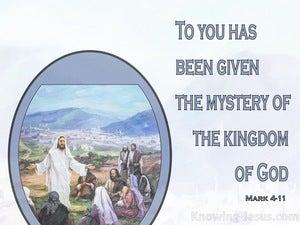 Mark 4:11