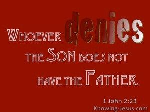 1 John 2:23