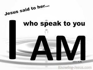 John 4:26