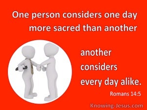 Romans 14:5