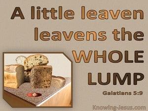 Galatians 5:9