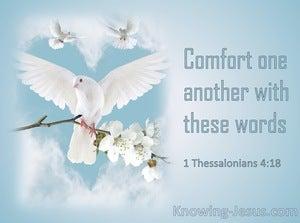 1 Thessalonians 4:18