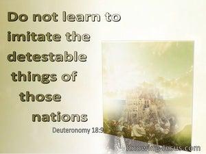 Deuteronomy 18:9