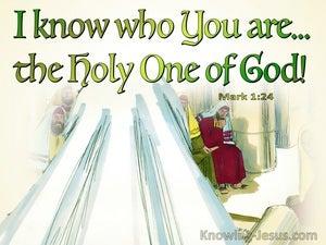 Mark 1:24