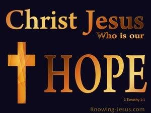 1 Timothy 1:1