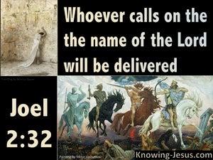 Joel 2:32