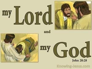 John 20:28