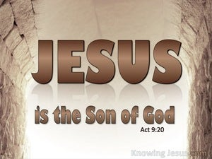 Acts 9:20