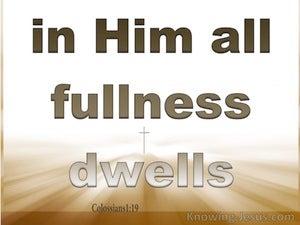Colossians 1:19