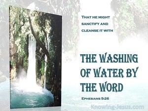 Ephesians 5:26