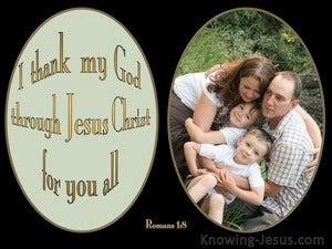 Romans 1:8