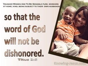 Titus 2:5