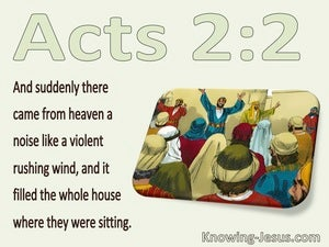 Acts 2:2