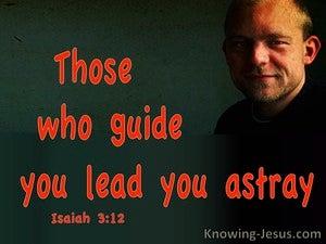 Isaiah 3:12