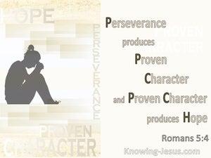 Romans 5:4