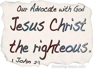 1 John 2:1