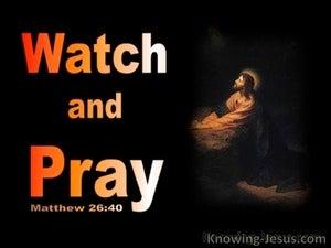 Matthew 26:40