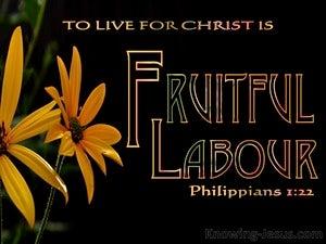 Philippians 1:22