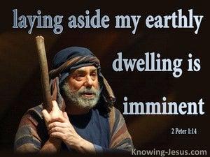 2 Peter 1:14