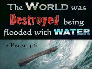 2 Peter 3:6