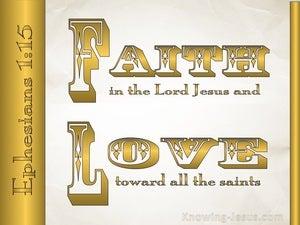 Ephesians 1:15