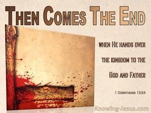 1 Corinthians 15:24
