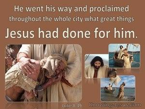 Luke 8:39