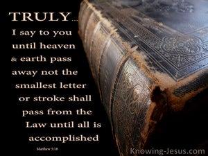 Matthew 5:18