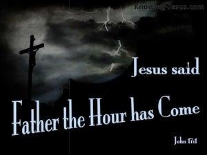 John 17:1