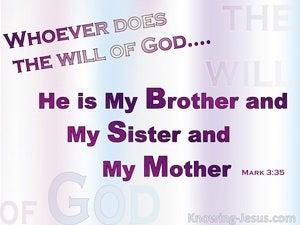 Mark 3:35